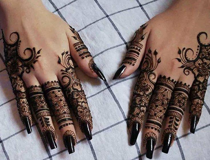 Finger Mehndi Art : Finger henna u pinteresu