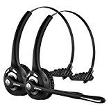 Mpow Pro Truck Driver Bluetooth Headset/ Office Headset, Wireless Over the Head Earpiece w/ Mic, On-Ear... Mpow Certificate  Mpow Professional Over-the-Head Driver's Rechargeable Wireless https://thehomeofficesupplies.com/mpow-pro-truck-driver-bluetooth-headset-office-headset-wireless-over-the-head-earpiece-w-mic-on-ear-headset-for-call-center-skype-voip-2-pack/