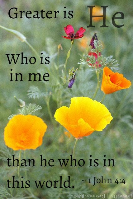 Greater Is HE...