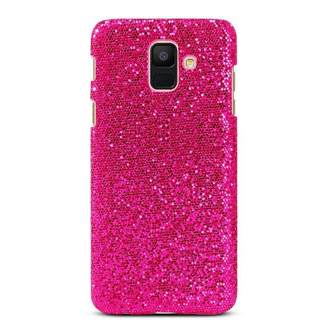 Samsung Galaxy A6 2018 Glitter Plastic Hard Case Case Samsung Galaxy Samsung