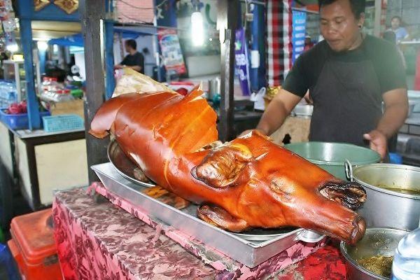 バリ島の夜市(センゴール)、1000円でどれだけ食べられるか?