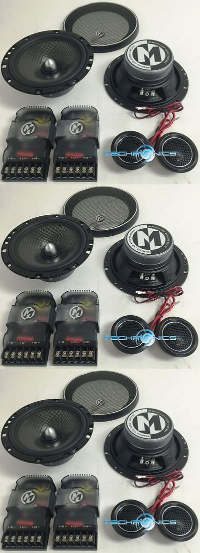 Car Speakers and Speaker Systems: Memphis Mcx6c 6.5 Component Speakers Mids Tweeters Crossovers Car Audio New -> BUY IT NOW ONLY: $109.95 on eBay!