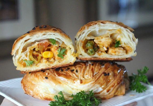 """Cooking with Zoki: """"Burek"""" sa piletinom i povrćem"""