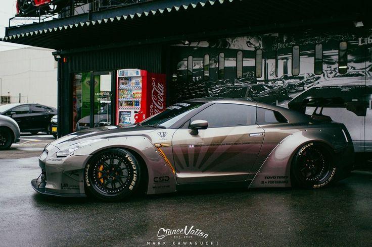 The Liberty Walk Nissan GT-R