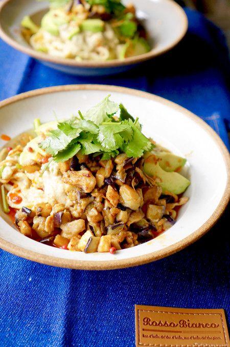 日清ラ王袋麺アレンジ!豆腐で作る☆ボリューム満点&ヘルシー濃厚まぜそば