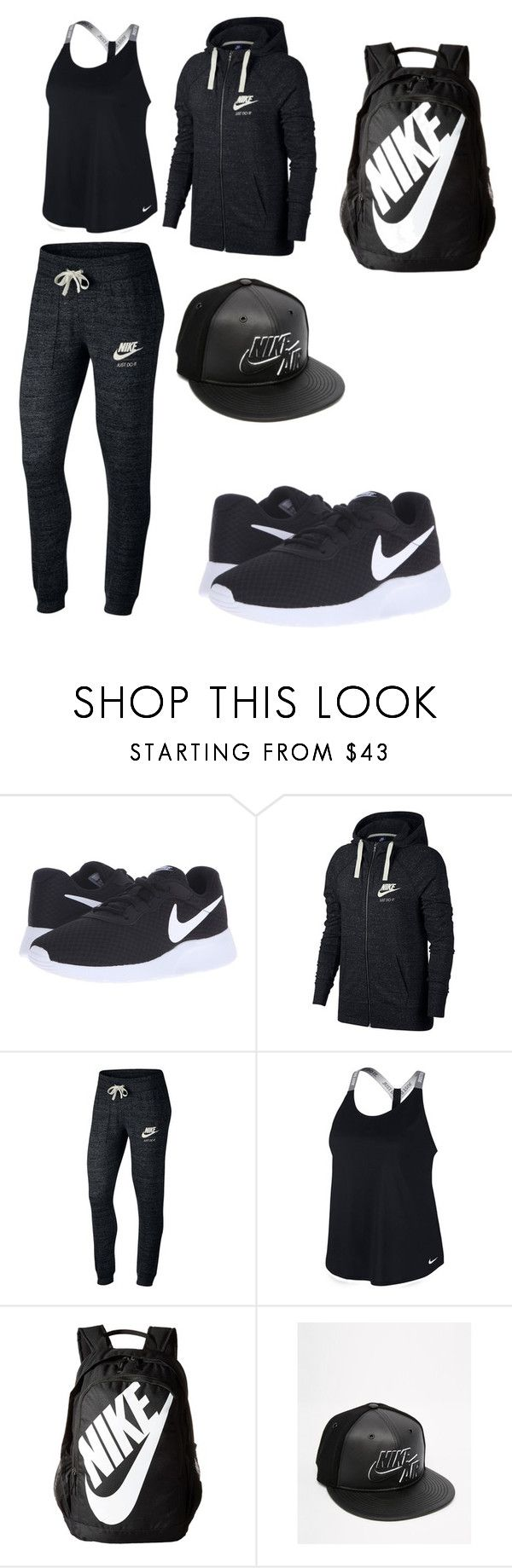 """Untitled #440"" by alexisrenefuentes on Polyvore featuring NIKE"