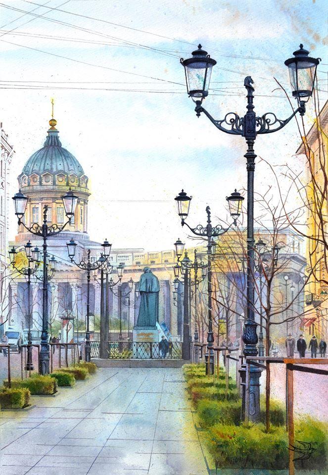 Viví Watercolours | Victoria kravchenko #artpeople