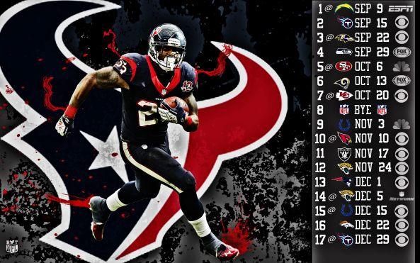 Houston Texans 2013 Schedule