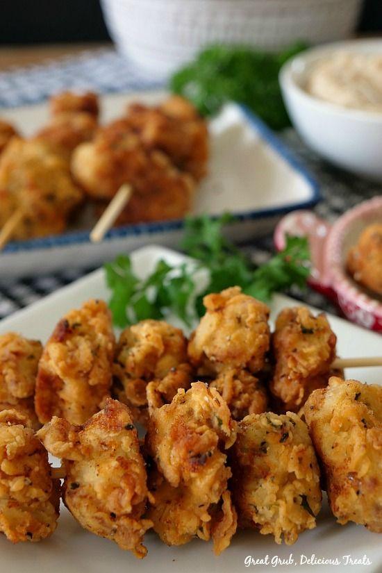 Chicken Fried Pork Nuggets - Great Grub, Delicious Treats
