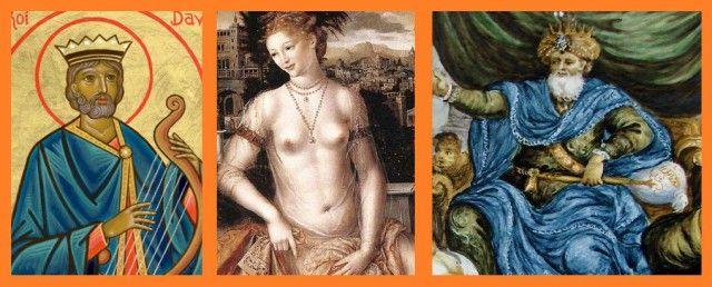 La Nouvelle Chronologie : le blog de la démystification et de la reconstruction historique: Qui sont les vrais Roi DAVID (Psaumes), sa femme BETHSABÉE et son fils, le Roi SALOMON