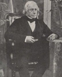John Stevens Henslow, Professor of Botany at Cambridge - he passed on to Darwin the offer of the Beagle voyage and stored his collections until he returned to Cambridge in 1836.