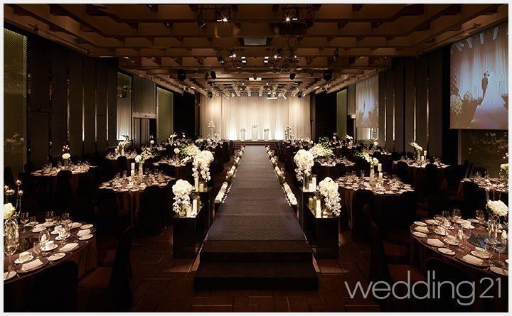 극적 모던함과 감각적 디테일, 뉴 모던 웨딩 스타일 웨딩홀
