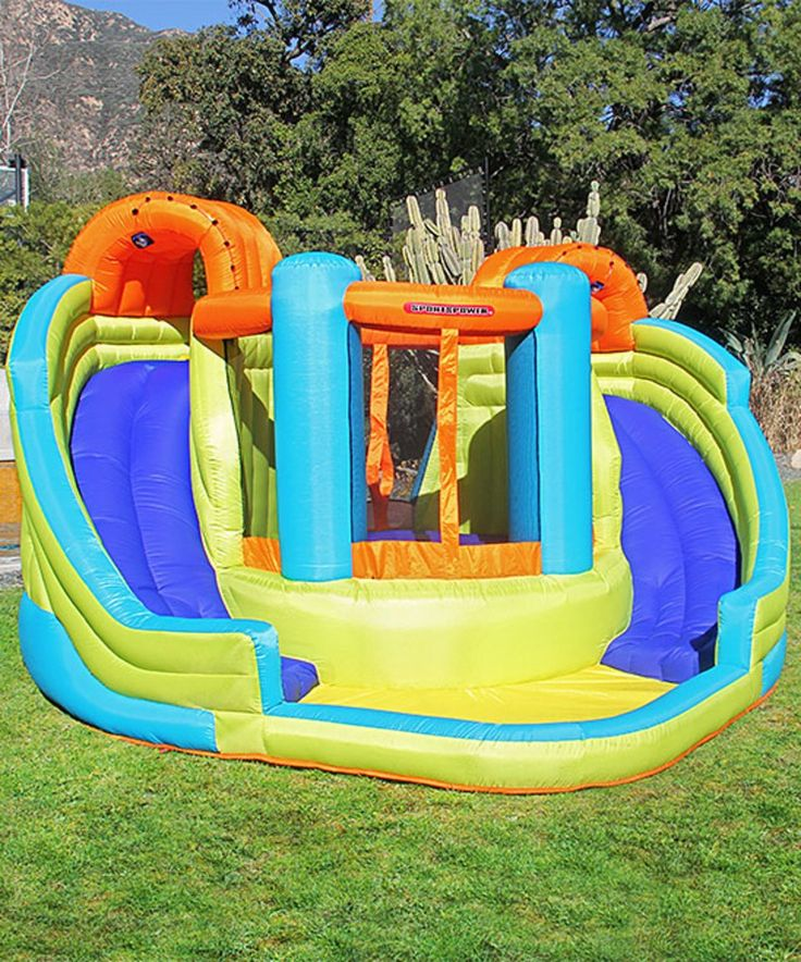 Inflatable Pool Slide Uk: 25+ Unique Inflatable Water Slides Ideas On Pinterest