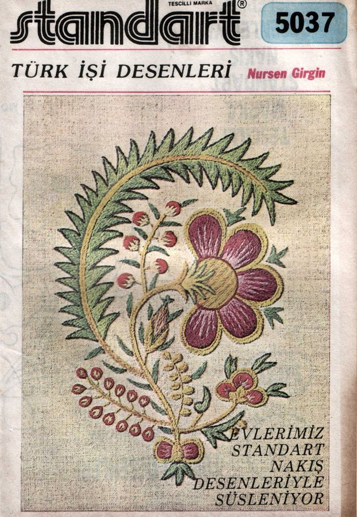 Turk work embroidery book...