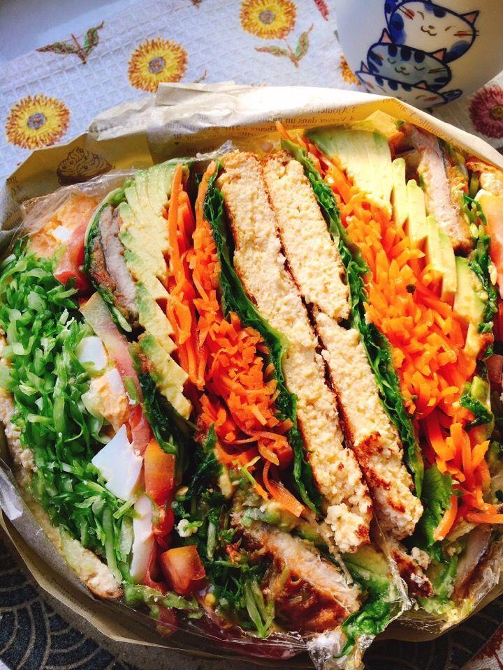 misuzu's dish photo 低糖質 アーモンドパンケーキで鯖のトマト煮サンド