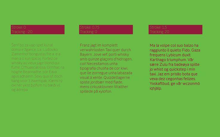 Cómo usar Flexline How to use Flexline #typefacedesign #stroke #tipografía #diseño