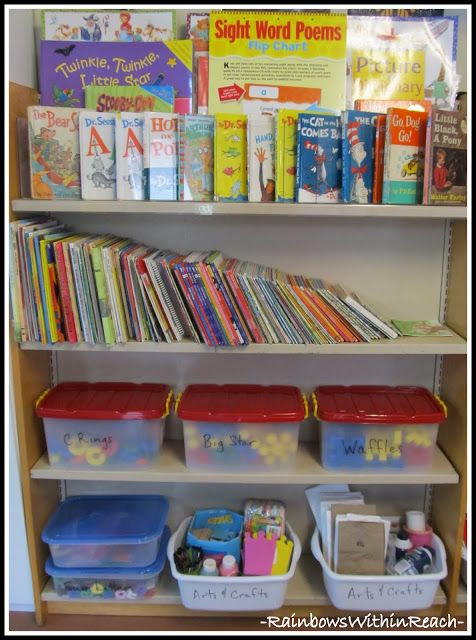 Classroom Bookshelf Ideas ~ Best ideas about bookshelf organization on pinterest