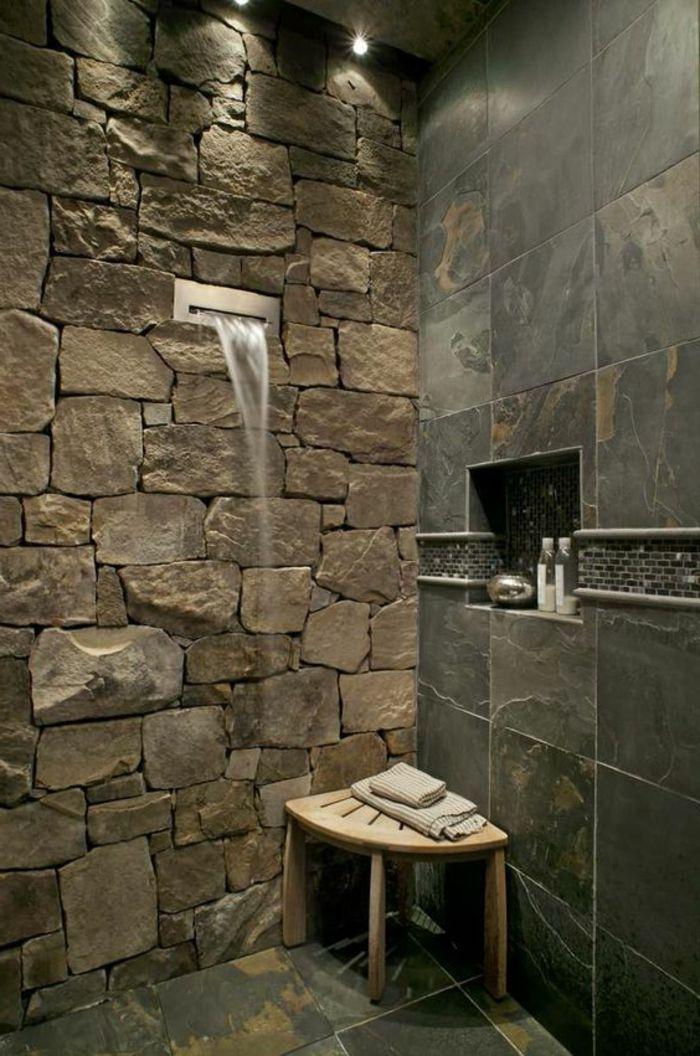 les 25 meilleures id es de la cat gorie douche cascade sur pinterest douche de r ve salle de. Black Bedroom Furniture Sets. Home Design Ideas