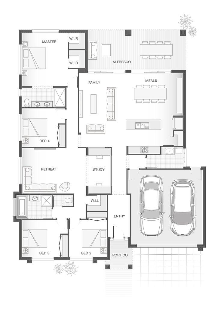31 best FLOOR PLANS images on Pinterest | Home design, Brisbane ...