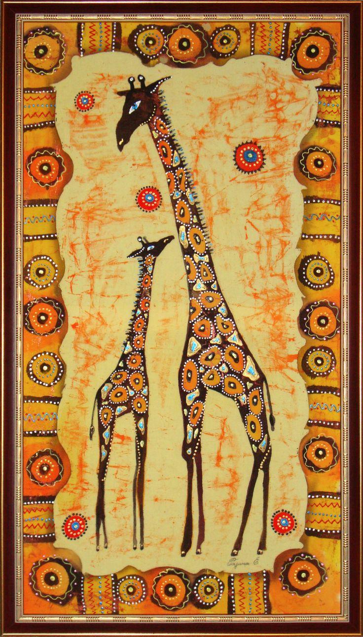 Своими, африканские картинки нарисованные