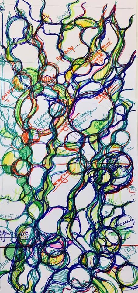 """Вчера стартовал курс #СпециалистНейрографики. Для тех, кто желает присоединиться к нашему творческому процессу , у кого есть стремление и желание просто свободно и красиво рисуя, изменить что-то в своей жизни в лучшую сторону, обращайтесь к Марии Байрамовой https://www.facebook.com/mariabayramova?fref=ts """" #Нейрографика. Вебинар. #Нейродрево, #TRUE шагают по планете ;). Хорошие результаты участников Павел Пискарев """""""