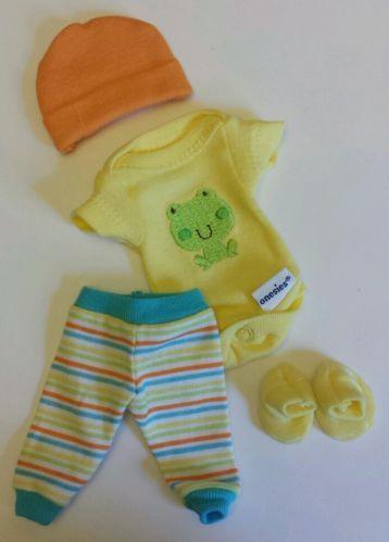 Sculpted Ooak Baby Doll Clothes Bodysuit Pants Cap Tiny