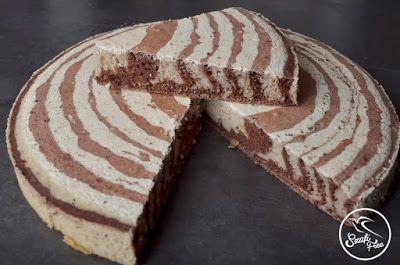 Kalóriaszegény, mindenmentes vegán Zebra piskóta (gluténmentes, tejmentes…