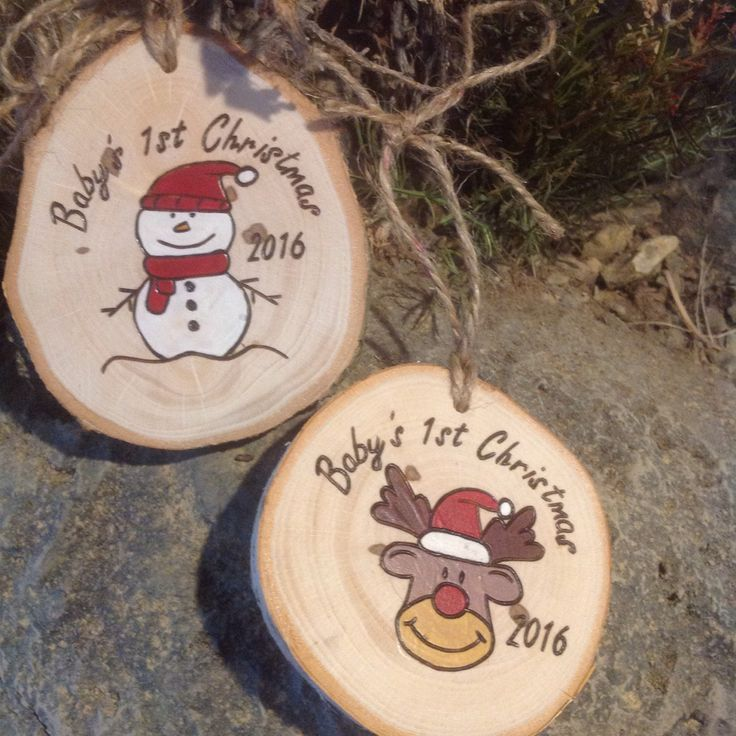 Baby's First Christmas ornaments now available!