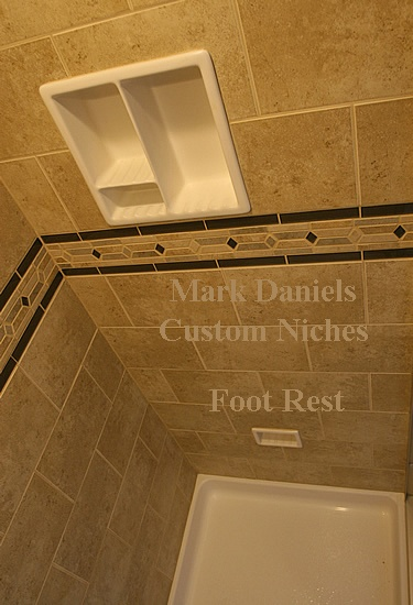 Awesome A Stand Up Shower With A Foot Rest Must Have