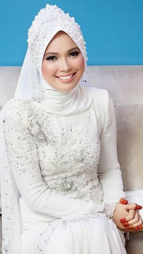 17 Best Images About Muslim Wedding Dress On Pinterest