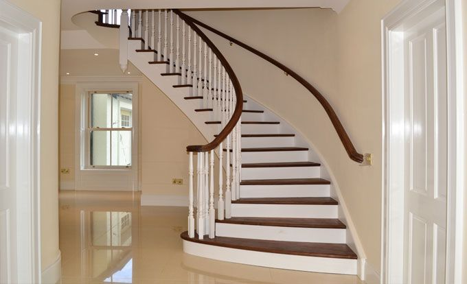 Best Hardwood Stairs Stair Treads And Staircases On Pinterest 400 x 300