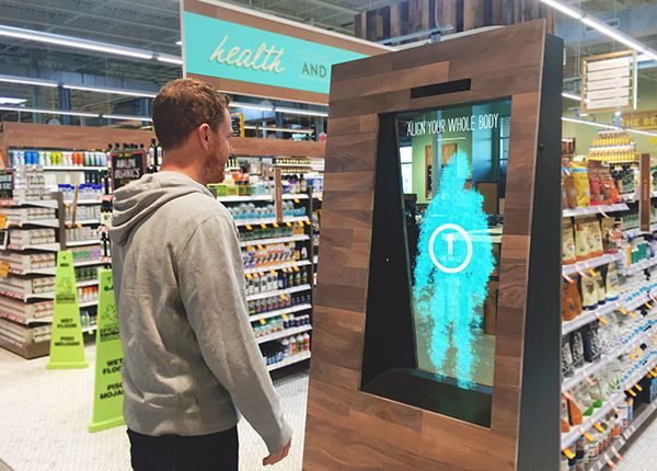 Intuitive Grocery Displays - Whole Foods' Interactive Store Display Helps Make Purchase Decisions (GALLERY)
