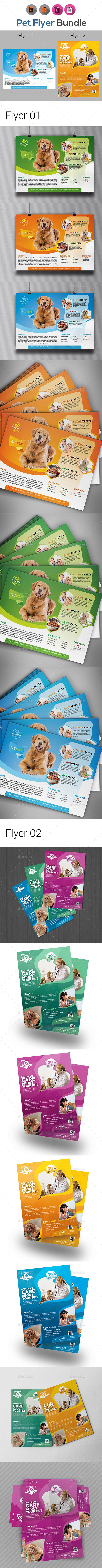 Below are two different file formats of the superman logo in a beveled - Pets Flyer Template Bundle