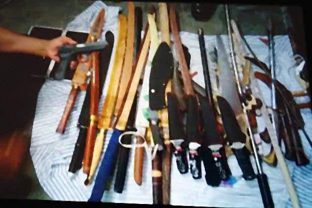 7 Senjata Api Ditemukan di Lapas Kerobokan