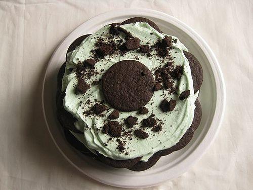 Mint Ice Box Cake | Dessert (Frozen / Refrigerated) | Pinterest