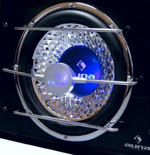 Impresionante caja de graves con subwoofer de 12 pulgadas, efecto cromado y diseño degran categoría. Un nuevo producto de la gama de audio para coche de Auna, esta vez con un toqueañadido Este subwoofer de 12 pulgadas de última generación de Auna está montado en unaestructura optimizada por orden... http://altavocespara.com/coche/auna/auna-subwoofer-para-coche-800w-potencia-maxima-12-con-iman-de-40-oz/