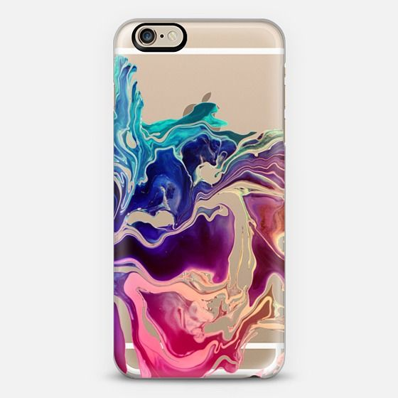 GO CHIC - COLORWAVES by Monika Strigel iPhone 6 case by Monika Strigel | Casetify