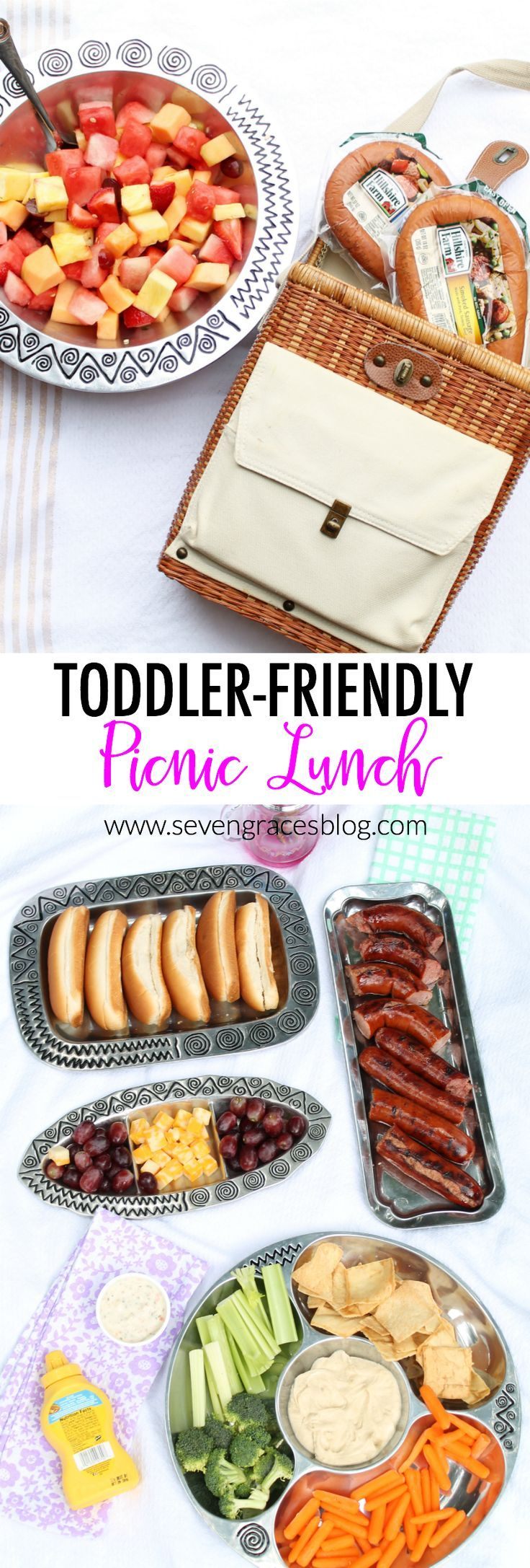 An Easy Toddler Friendly Picnic Lunch