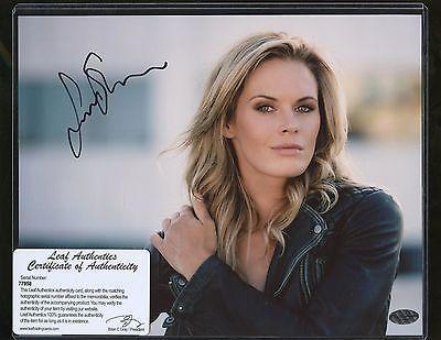 Celebrity Autographs: Lauren Shaw 8X10 Photo Leaf Coa Autograph -> BUY IT NOW ONLY: $19 on eBay!