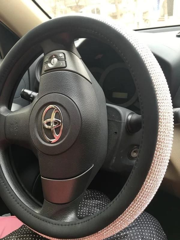 Rose Gold Car Accessories : accessories, Bedazzled, Steering, Wheel, Cover, Rhinestones, Cover,, Accessories,