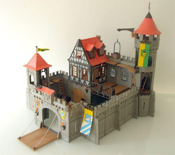 Les 25 meilleures id es de la cat gorie chateau fort for Notice de montage chateau princesse playmobil
