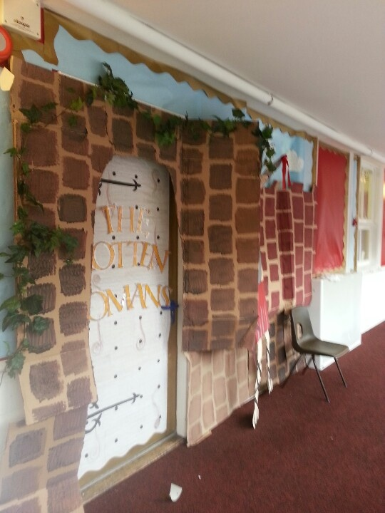 Romans display - great idea by original pinner.
