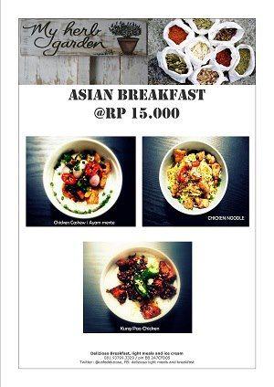 Promo Asian Breakfast