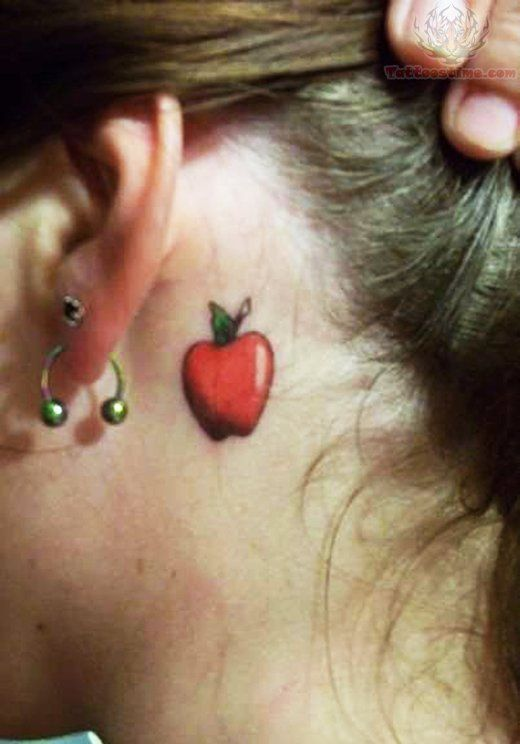 Apple Tattoo @Ana Maranges hackman