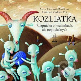 Martinus.sk > Knihy: Kozliatka (Mária Rázusová-Martáková, Jaroslava Blažková)