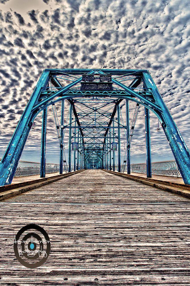 Walnut Street Bridge by Dawn Thornton Chattanooga, TN