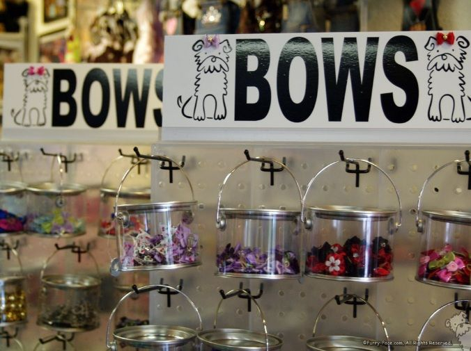 Bow display--so simple and effective...