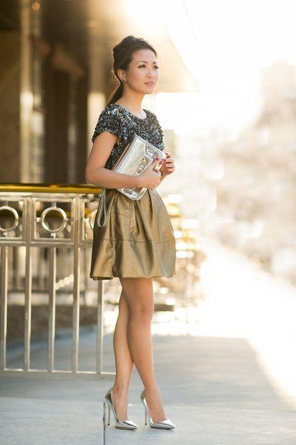 Mixed Metal :: Gold skirt