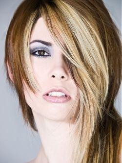 brown + blonde