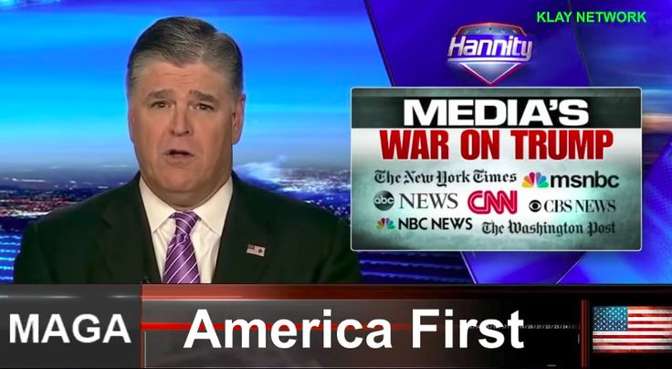 Donald Trump Tweets Offensive Rant and Fox News' Dependable Sean Hannity Defends Him
